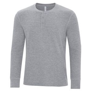 ATC™ Vintage Thermal Long Sleeve Henley