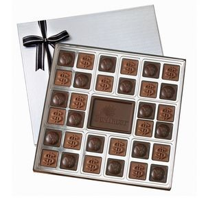 32 Piece Chocolate Squares Gift Box