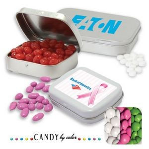 Pocket Tin Large- Chocolate Button Candy by Color