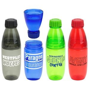 Convertible 20 oz Tritan™ Bottle and Tumbler